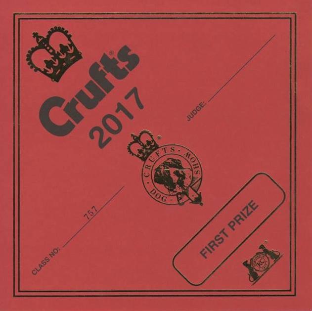 Crufts certificaat
