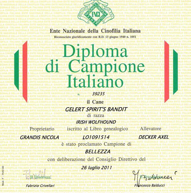 Italiaans kampioen